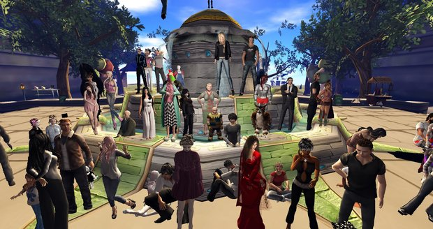 Second Life: In der Simulation leben immer noch 600.000 Spieler