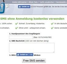Hier könnt ihr online anonyme SMS ohne Absender schicken