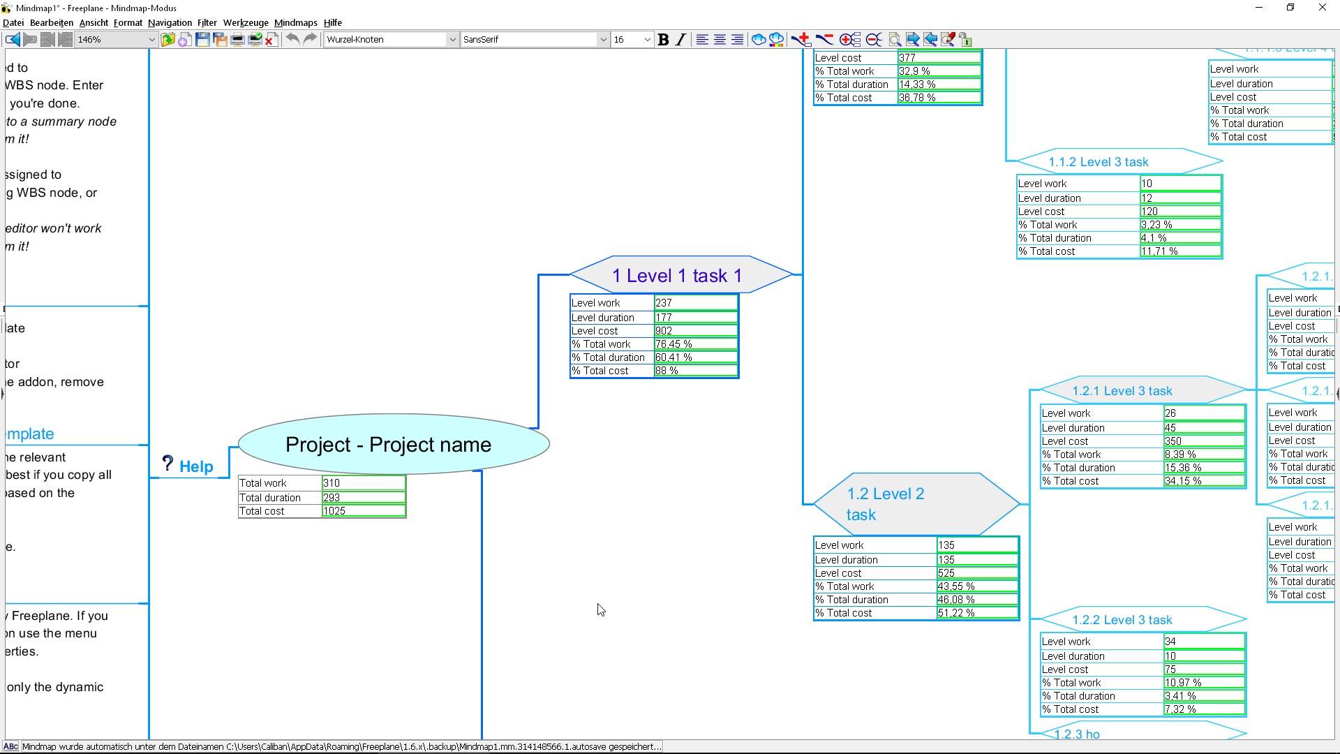 Einen Netzplan erstellen mit Freeware – GIGA