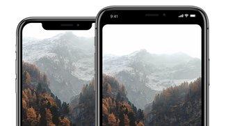 """iPhone X """"Notch"""": Wallpaper, App und Vorlagen zur Entfernung"""