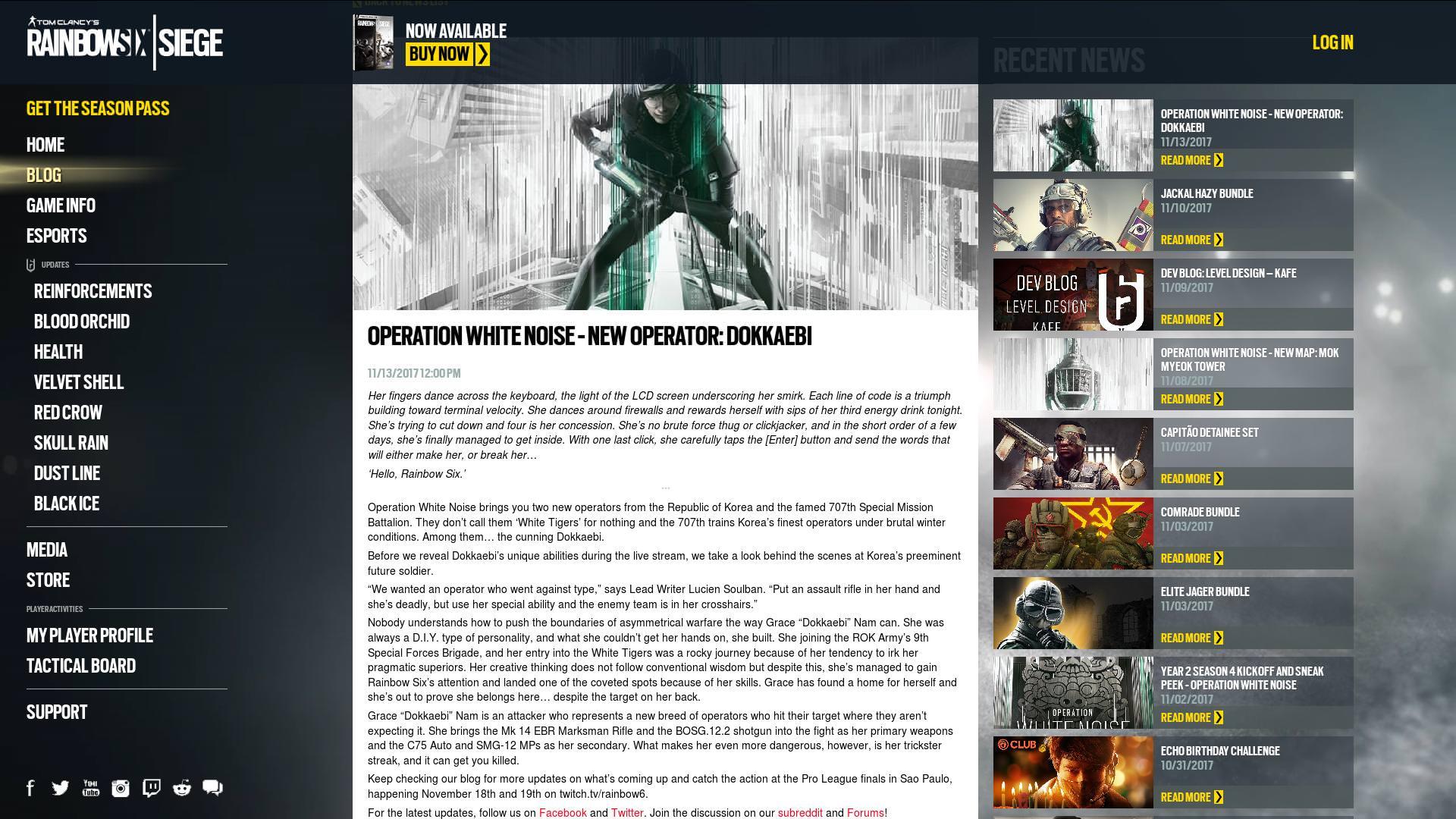 Rainbow Six: Siege - Polnischer Operator Zofia mit einem Trailer enthüllt