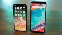 iPhone X, OnePlus 5T und Razer Phone im...