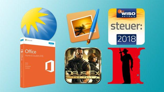Kostenlose und reduzierte Apps für iPhone, iPad und Mac