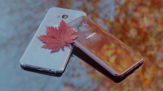 Samsung Galaxy S8 in Burgunderrot: Diese Farbe lässt unser Herz dahinschmelzen