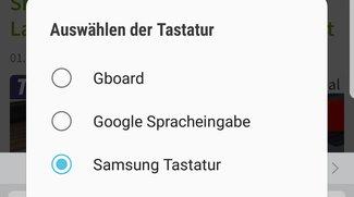 So wechselt ihr die Tastatur auf dem Galaxy S8