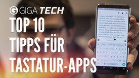 Top 10: Tipps für Tastatur-Apps