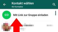 So ladet ihr per Link in WhatsApp-Gruppen ein
