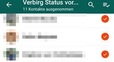 Whatsapp Status Freunde Nicht Sichtbar Whatsapp Status