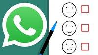 WhatsApp: Umfrage einfügen – so geht's