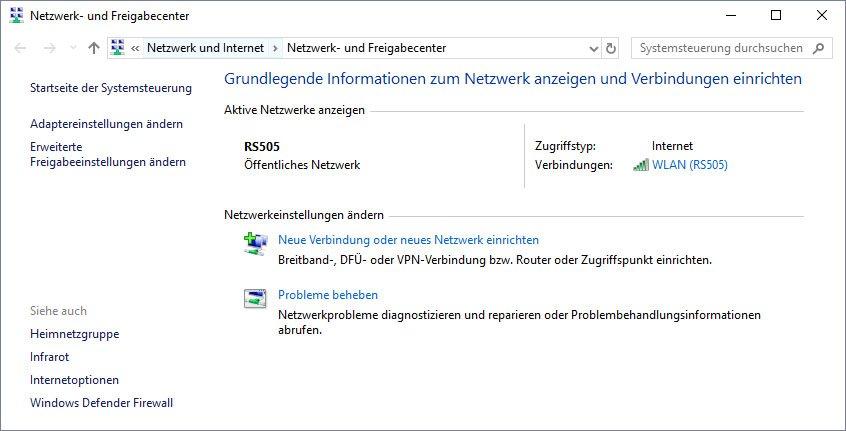 Windows 10 Netzwerk Und Freigabecenter Offnen So Geht S Giga