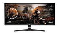 LG Curved 21:9 Gaming-Monitor mit 144 Hz und AMD FreeSync