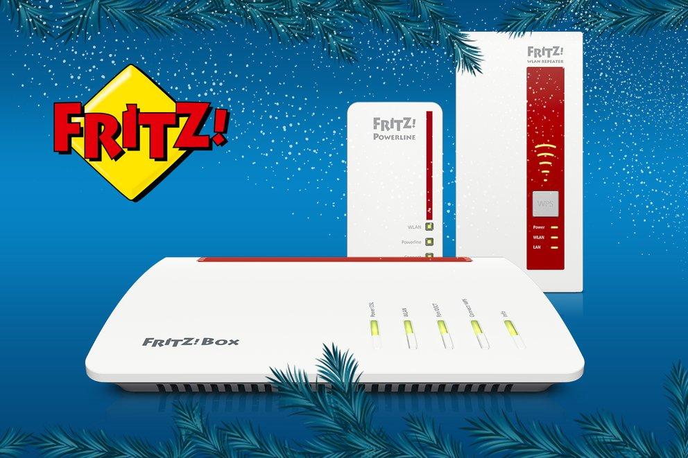 Gewinne das große FRITZ!WLAN-Paket von AVM im Wert von 527€