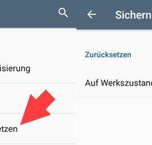 Android: Auf Werkseinstellung zurücksetzen (bebilderte Anleitung)