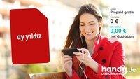 Knaller! Kostenlose Prepaid-Karte mit 10 € Startguthaben bei handy.de