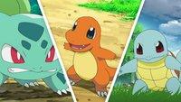 Pokémon - Let's Go: Alle Kanto-Starter fangen (Glumanda, Schiggy und Bisasam)
