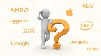 Apple, Samsung, Intel und Co: Kennst du die Bedeutung dieser Firmennamen?