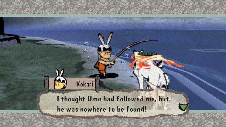 Die Charaktere in Okami sind menschlich und haben so einige Verrücktheiten, die sie so liebenswert machen.