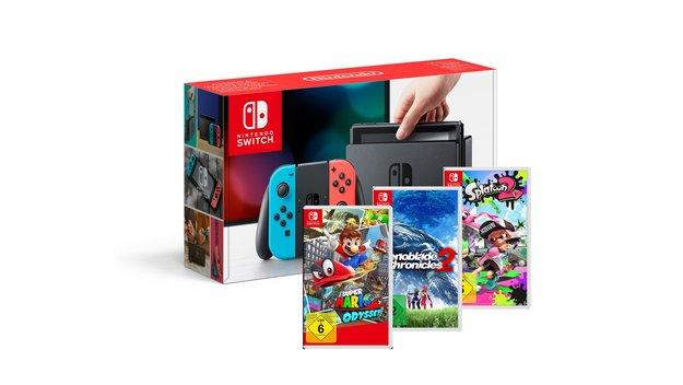 Hol dir dein Nintendo Switch Bundle!