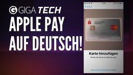 Apple Pay Einrichtung auf Deutsch: Ei...