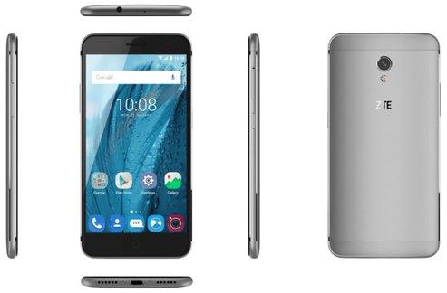 ZTE Blade V7 16 GB Grau Dual SIM Smartphone