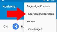 So exportiert ihr SIM-Kontakte auf das Google-Konto