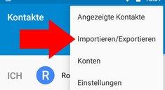 Android-Kontakte synchronisieren: von SIM-Karte auf's Google-Konto – Anleitung