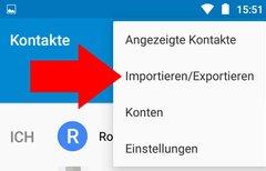 Android-Kontakte...