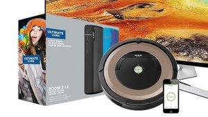 Amazon Angebote: Samsung 65 Zoll TV, Ultimate Ears Boom 2 im Doppelpack, Staubsaugerroboter