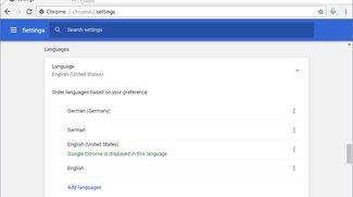 Chrome: Sprache ändern (auf Deutsch) – so geht's