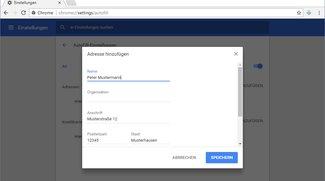 Chrome: AutoFill aktivieren, bearbeiten, löschen – so geht's