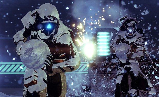 Destiny 2: Schneeballschlachten im Weihnachts-Event