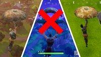 Fortnite - Battle Royale: Regenschirm in Gold (und Rot) bekommen
