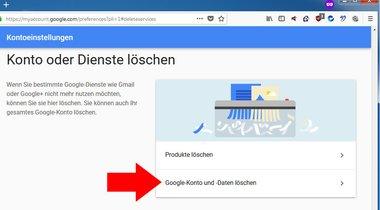 google+ konto löschen