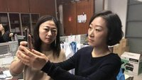 Gesichtserkennung: Wenn das iPhone X vor der Kollegin nicht sicher ist