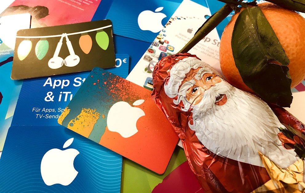 iTunes-Karten mit Rabatt im Dezember 2017