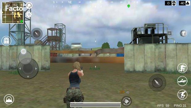 Last Battleground - Survival: Steuerung wie Schießen, Springen, Schleichen erklärt