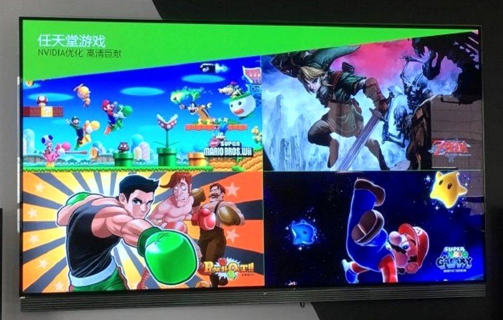 Diese Nvidia-Konsole kommt mit Nintendo-Klassikern