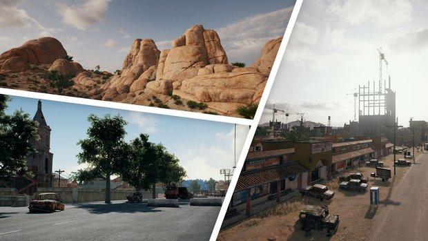 PlayerUnknown's Battlegrounds: Maps - Größe, Loot und Infos