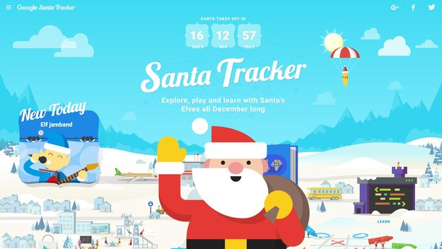 Google Santa Tracker 2018: So kannst du den Weihnachtsmann auf dem Smartphone verfolgen