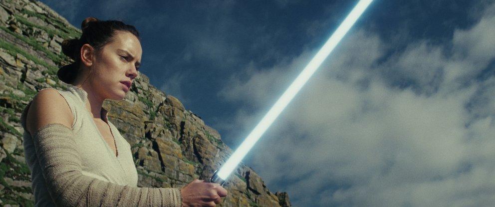 """Rey in """"Star Wars: Die letzten Jedi"""" (Quelle: Walt Disney)"""