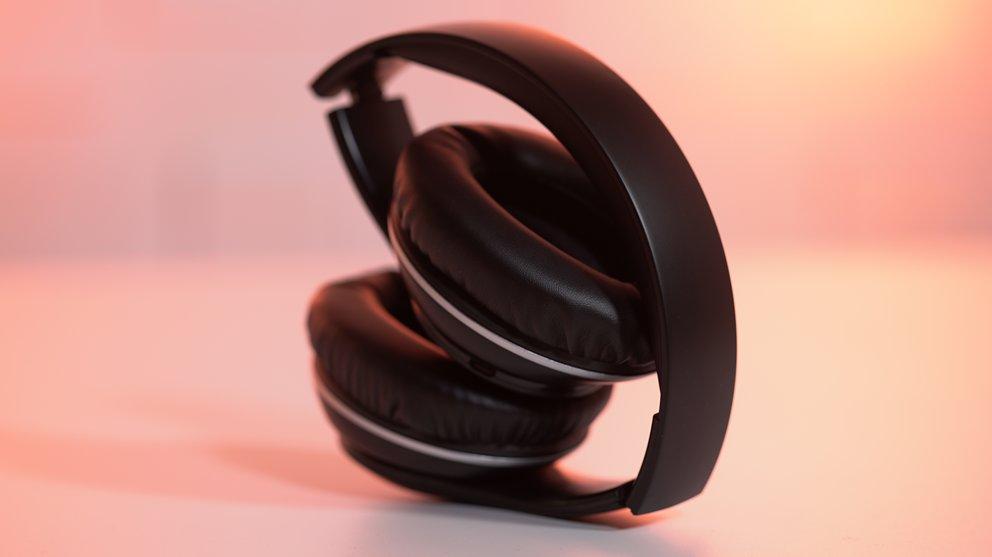 TaoTronics TT-BH028: Zusammenklappbarer Bluetooth-Kopfhörer