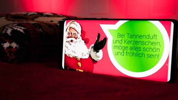Frohe Weihnachten Mit Whatsapp Schone Spruche Zum Verschicken Giga