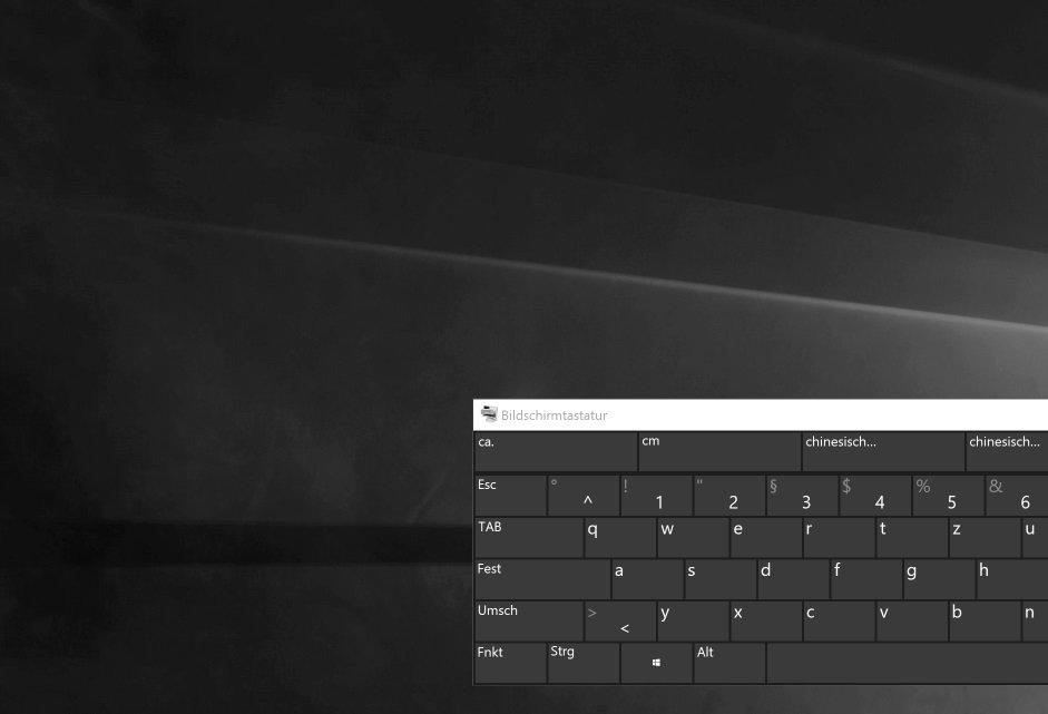 Desktop hintergrund nur noch schwarz