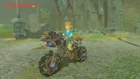 Zelda - Breath of the Wild: Motorrad...