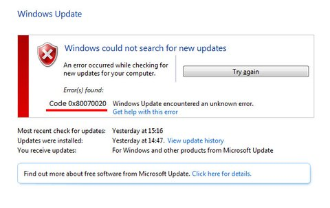 Lösung: 0x80070020 – Update-Fehler in Windows 10