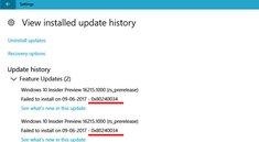 Lösung: Update-Fehler 0x80240034 in Windows 10