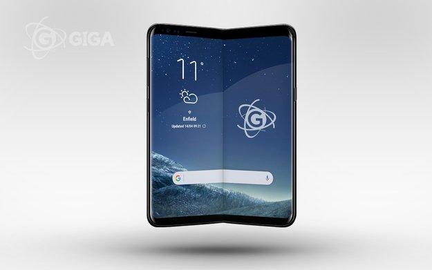 Galaxy X: Faltbares Smartphone von Samsung kommt – garantiert