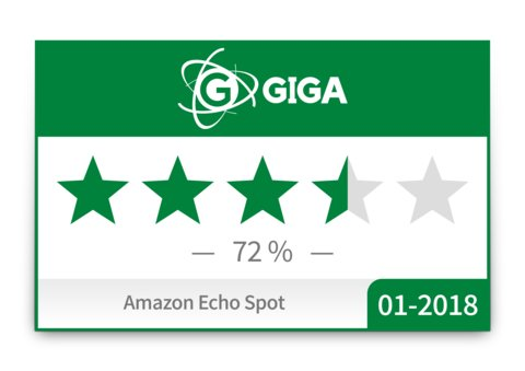 Amazon-Echo-Spot-GIGA-TECH-Wertung-Badge