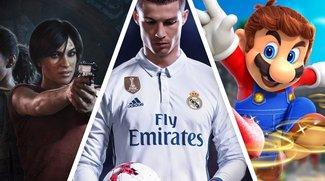 Die erfolgreichsten Videospiele in Deutschland im Jahr 2017