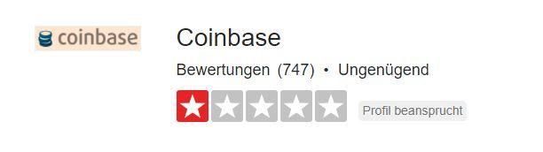 Coinbase Erfahrung